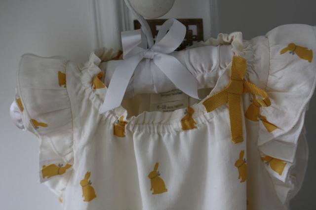 Une petite robe Gap de la collection Peter Rabbit