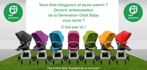 Concours Orbit Baby France