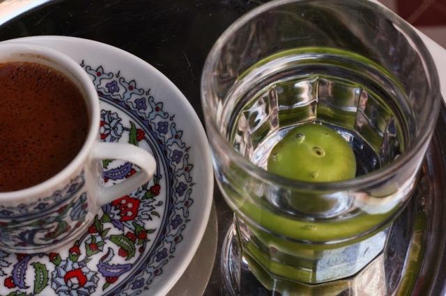 Le café turc bien mérité après une longue journée de visite !
