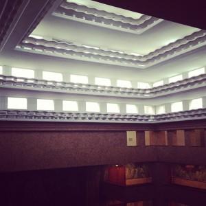le forum vu du haut